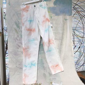 Size 26/32 Stan Ray OG Painter pant Parrot Tie Dye